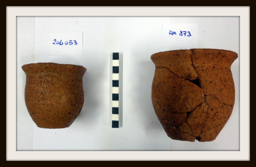 schedatura manufatti archeologici